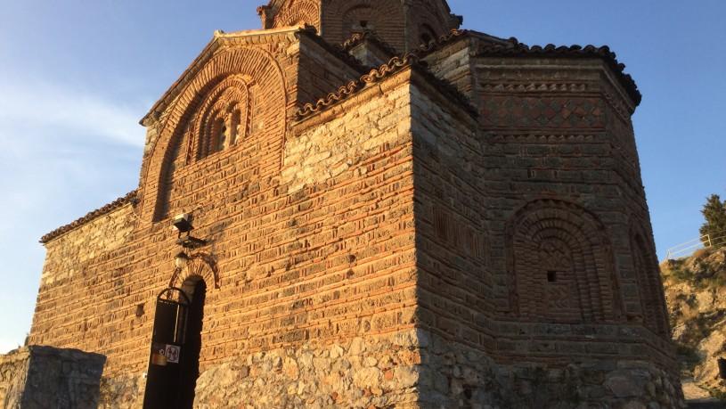 St Ioan Kaneo Church Ohrid