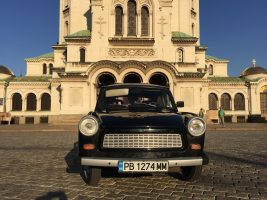 Sofia Communist Tour by Trabant Car 1985